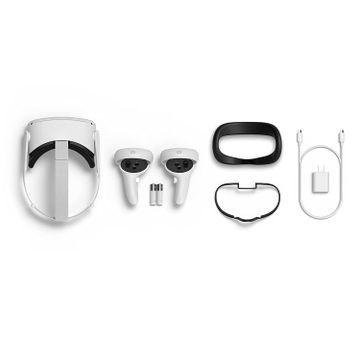 Oculus Quest 2. Doble capacidad de almacenamiento y nueva proteccion de silicona. All In One Virtual Reality Headset 128GB