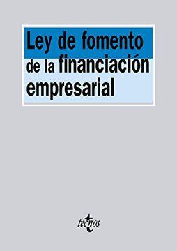 portada Ley de Fomento de la Financiación Empresarial