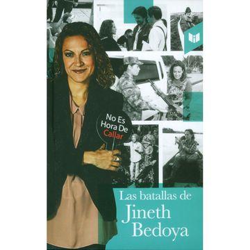 portada Las Batallas de Jineth Bedoya