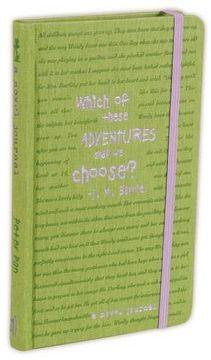 portada A Novel Journal: Peter Pan (Compact) (Novel Journals) (libro en Inglés)