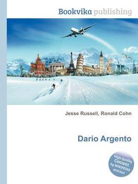 portada Dario Argento (libro en Inglés)