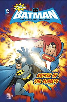 portada Bottle of the Planets (Dc Comics: the All-new Batman: the Brave and the Bold)