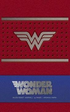 portada Wonder Woman Ruled Pocket Journal (libro en Inglés)
