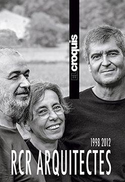 portada Croquis 191 rcr Arquitectes 1998 2012 (libro en Español, Inglés)