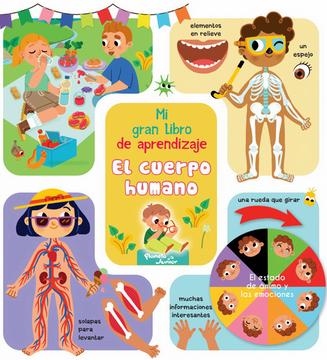 portada Mi Gran Libro de Aprendizaje el Cuerpo Humano