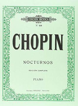 portada Nocturnos. (Edicion Completa). (Piano). (Ref: Ei0059)