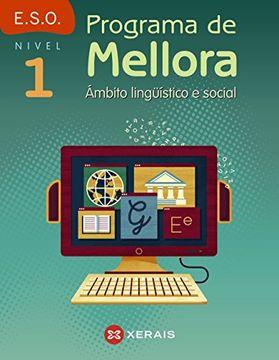 portada Programa de mellora. Ámbito lingüístico e social. Nivel 1 (Libros De Texto - Educación Secundaria Obrigatoria - Lingua) - 9788491212270