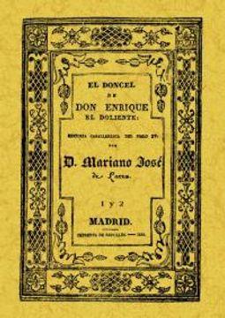 portada El doncel de Don Enrique el Doliente: 2