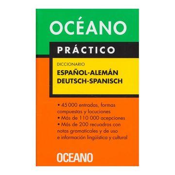 portada Diccionario Oceano Practico Espanol-Aleman