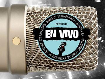 portada Fotorock En Vivo. Bandas Extranjeras I Azul