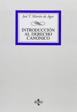 portada Introducción Al Derecho Canónico (derecho - Biblioteca Universitaria De Editorial Tecnos)