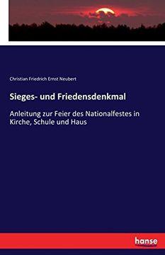 portada Sieges- Und Friedensdenkmal (German Edition)