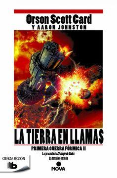 portada La Tierra en Llamas (Primera Guerra Fórmica 2) (b de Bolsillo)
