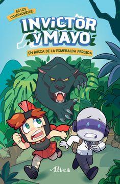 portada Invictor y Mayo en Busca de la Esmeralda Perdida