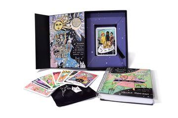 """portada """"El Tarot Como Guía"""" kit con Libro Para Aprender Coloreando"""