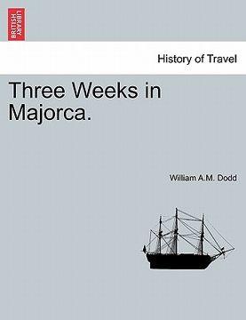 portada three weeks in majorca.