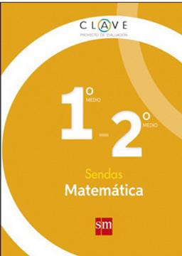 portada Matemática 1° y 2° Medio