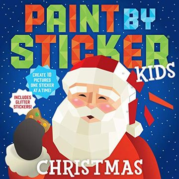 portada Paint by Sticker Kids: Christmas (libro en Inglés)
