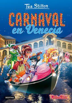 portada Carnaval en Venecia: Tea Stilton 25