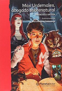 portada Max Urdemales, Abogado Sobrenatural