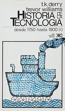 portada Historia de la Tecnologia - t. 2 Desde 1750 Hasta 1900 Vol. 1750