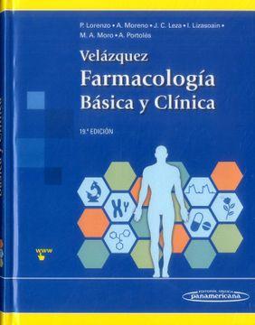 portada Velazquez. Farmacología Básica y Clínica