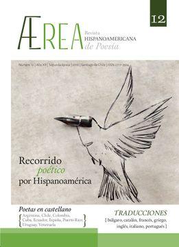 portada ÆREA. REVISTA HISPANOAMERICANA DE POESÍA NRO. 12