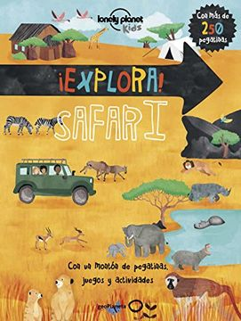 portada Explora! Safari (Lonely Planet Junior)