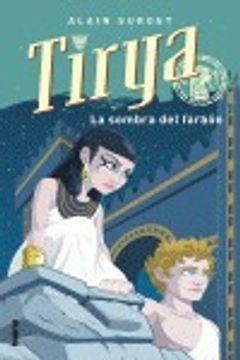 portada Tirya y el faraón en la sombra (Umbriel juvenil)