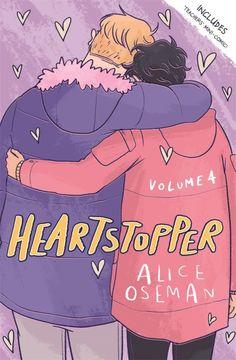 portada Heartstopper Volume Four (libro en Inglés)