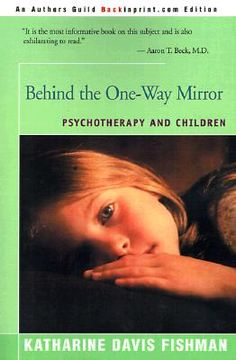 portada behind the one-way mirror: psychotherapy and children