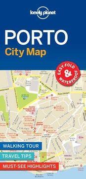 portada Lonely Planet Porto City map (libro en inglés)