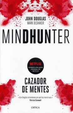 portada Mindhunter: Cazador de Mentes.