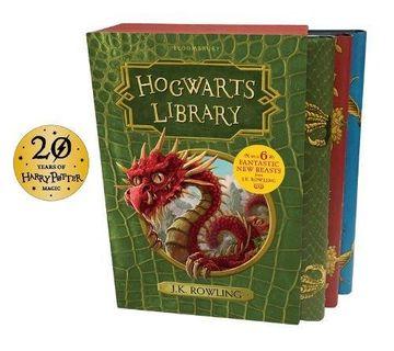 portada The Hogwarts Library box set (libro en Inglés)