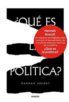 portada Qué es la Política?