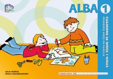 portada Alba 1. Cuaderno de Niños y Niñas (Primeros Años en Familia) (Catequesis Familiar)