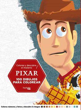 portada Colorea y Descubre el Misterio Pixar
