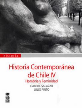 portada Historia Contemporanea Tomo 4. Hombria y Feminidad.