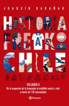 portada Historia Freak de Chile Vol. II (Nov Junio)
