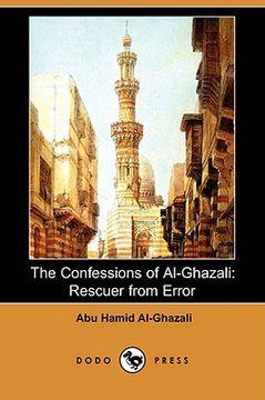 portada the confessions of al-ghazali: rescuer from error (dodo press)