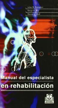 portada Manual del Especialista en Rehabilitacion