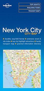 portada Lonely Planet new York City map (libro en inglés)