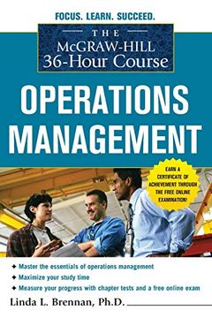 portada The Mcgraw-Hill 36-Hour Course: Operations Management (Mcgraw-Hill 36-Hour Courses) (libro en Inglés)