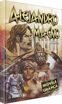 portada Alejandro Magno - Novela Gráfica