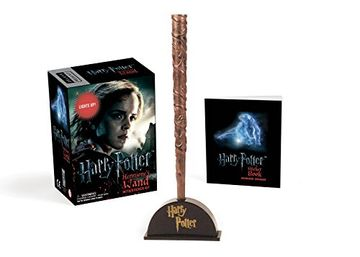 portada Harry Potter Hermione's Wand With Sticker Kit: Lights up! (Miniature Editions) (libro en Inglés)