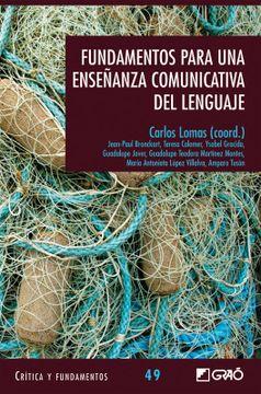 portada Fundamentos Para una Enseñanza Comunicativa del Lenguaje