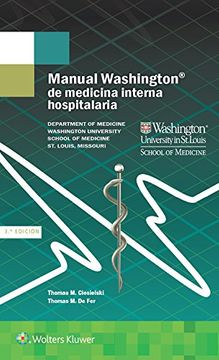 portada Manual Washington de Medicina Interna Hospitalaria
