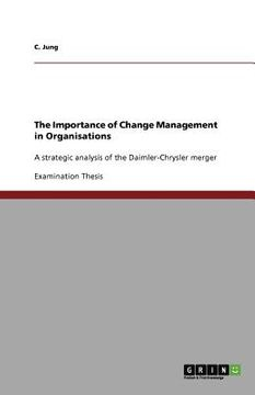 portada the importance of change management in organisations