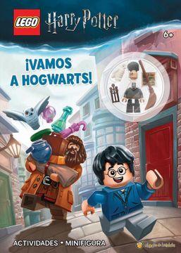 portada Vamos a Hogwarts [Harry Potter] [Incluye una Mini Figura Para Armar]