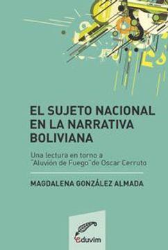 portada El sujeto nacional en la narrativa boliviana